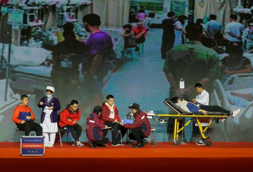 山西省食品和平突发事件应急演练在太原举办